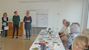 Susanne Schönewolff , Anne Ryfisch und Hella Reich (v.li.)