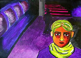 Ausstellung und Musik: SchülerInnen stellen ihre Wirklichkeit künstlerisch dar, begleitet von 8-Stunden-Nacht-Konzert