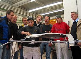 Die Wise Guys besuchten die Jugendwerkstatt Klettenberg, eine Gründung der evangelischen Gemeinde