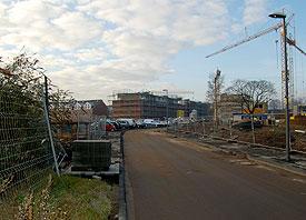 """Bebauungspläne an der Kempener Straße gefährden die Arbeit sozialer Einrichtungen rund um den """"Worringer Bahnhof"""""""