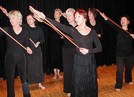 """""""Lebenswege"""" – der Frauentag 2007 im Kirchenkreis Köln-Süd in Frechen"""
