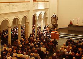 """""""Einen anderen Grund kann niemand legen außer dem, der gelegt ist, welcher ist Jesus Christus"""": Europa und der Protestantismus waren Thema der Reformationsfeier 2007"""