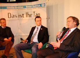 """""""Kölner Menschen 2007"""": Jahresrückblick unter anderem mit Stadtsuperintendent Ernst Fey – Blicke auf den Kirchentag und den geplanten Moscheebau in Ehrenfeld"""