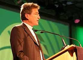 """""""Jesus Christus spricht: Ich lebe und ihr sollt auch leben"""" – Der EKD-Ratsvorsitzende Wolfgang Huber zur Jahreslosung 2008"""