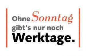 Gründungserklärung der Kölner Allianz für den freien Sonntag