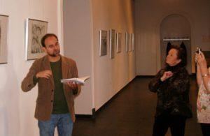 Führung durch die Günter Grass-Ausstellung