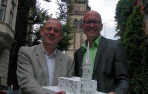 Der Turm der Christuskirche bleibt erhalten