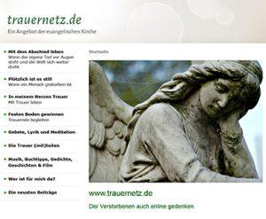 Am Ewigkeitssonntag online der Verstorbenen gedenken