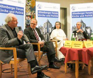 """Über alte und neue Formen von """"Familie"""" wurde im Altenberger Forum diskutiert"""