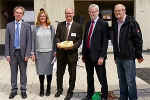 Antoniter Siedlungsgesellschaft (ASG) feierte Richtfest am Andreaskirchplatz in Brühl-Vochem