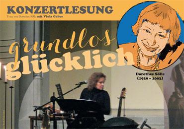 30. September: Viola Gabor inszeniert Texte von Dorothee Sölle