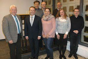 Die neue Verbandsvertretung des Evangelischen Verwaltungsverbandes Köln-Süd/Mitte