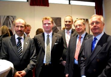 Präses Rekowski trifft evangelische Unternehmer in der Antoniterkirche