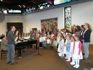 Sechster KinderChorTag des Kirchenkreises Köln-Nord brachte mächtig Stimmung in der Chorweiler Stadtkirche