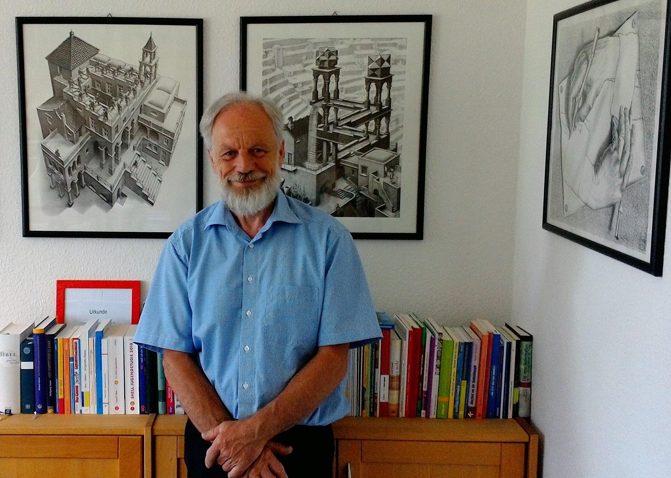Werner Völker wurde als Leiter des Evangelischen Jugendpfarramts verabschiedet