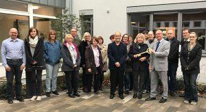 ASG übergibt den Schlüssel für die neuen Büroräume des Evangelischen Verwaltungsverbandes Köln-Rechtsrheinisch