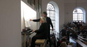 Orgel-Premiere mit Zwischenfall