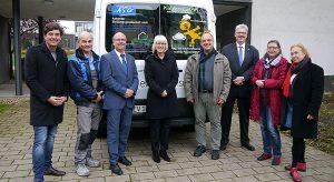 Antoniter Siedlungsgesellschaft hilft beim Kauf eines Busses für die ev-angel-isch gGmbH