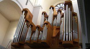 """Orgelkonzert """"Iberische und französische Tradition""""am 27. September um 20 Uhr in der Trinitatiskirche"""