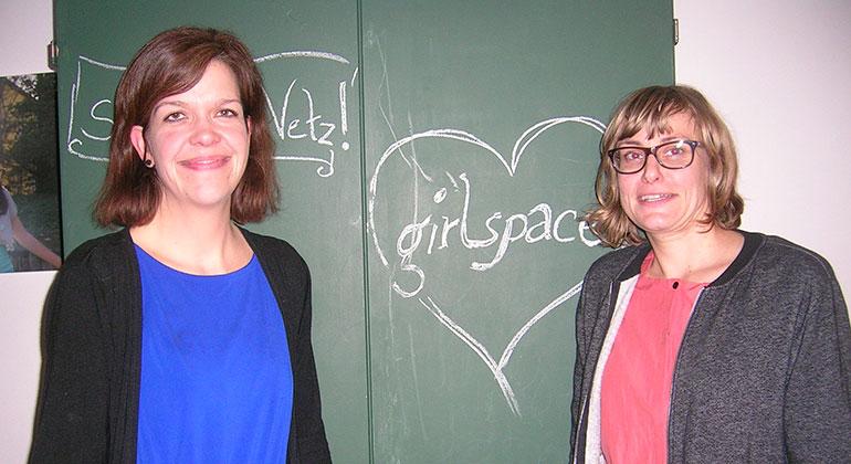 """Girlspace"" goes Thomaskirche"