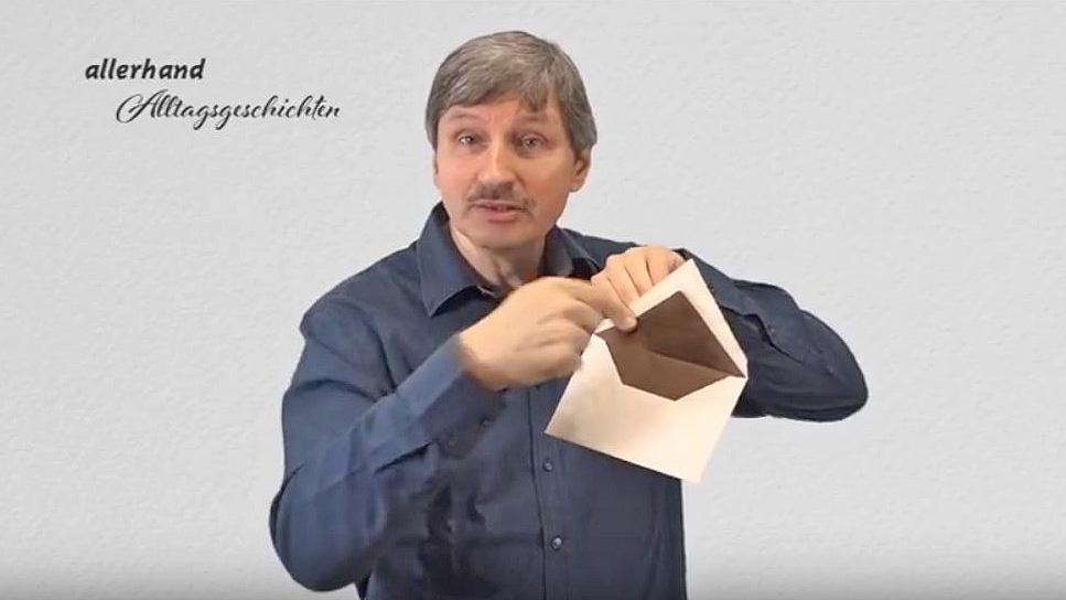 Gehörlosenpfarrer Dieter Schwirschke
