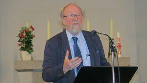 """""""Die Sichtbarkeit der Religion müssen wir verteidigen"""", erklärte Wolfgang Thierse bei einem Vortrag in der Kartäuserkirche"""