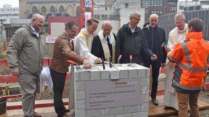 Historischer Tag an der Antoniterkirche: Feierliche Grundsteinlegung für das neue AntoniterQuartier