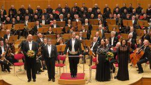 Andreas Meisner mit stehenden Ovationen als Leiter des Oratorienchors Köln verabschiedet