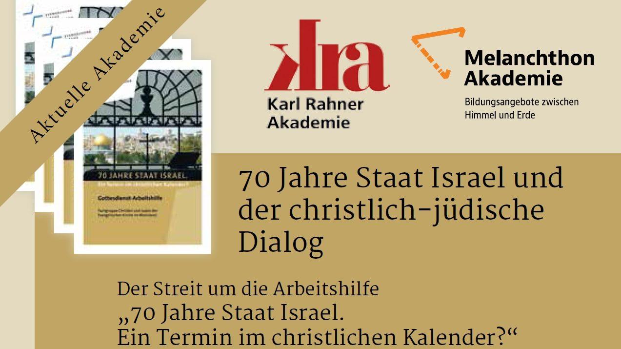 """Podiumsdiskussion zum Streit um die Arbeitshilfe """"70 Jahre Staat ..."""