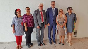"""""""Was Sie hier gerade tun, ist das Bestmögliche"""" - Frauenrechtsdelegation aus Honduras besuchte das Bundesministerium für wirtschaftliche Zusammenarbeit und Entwicklung"""
