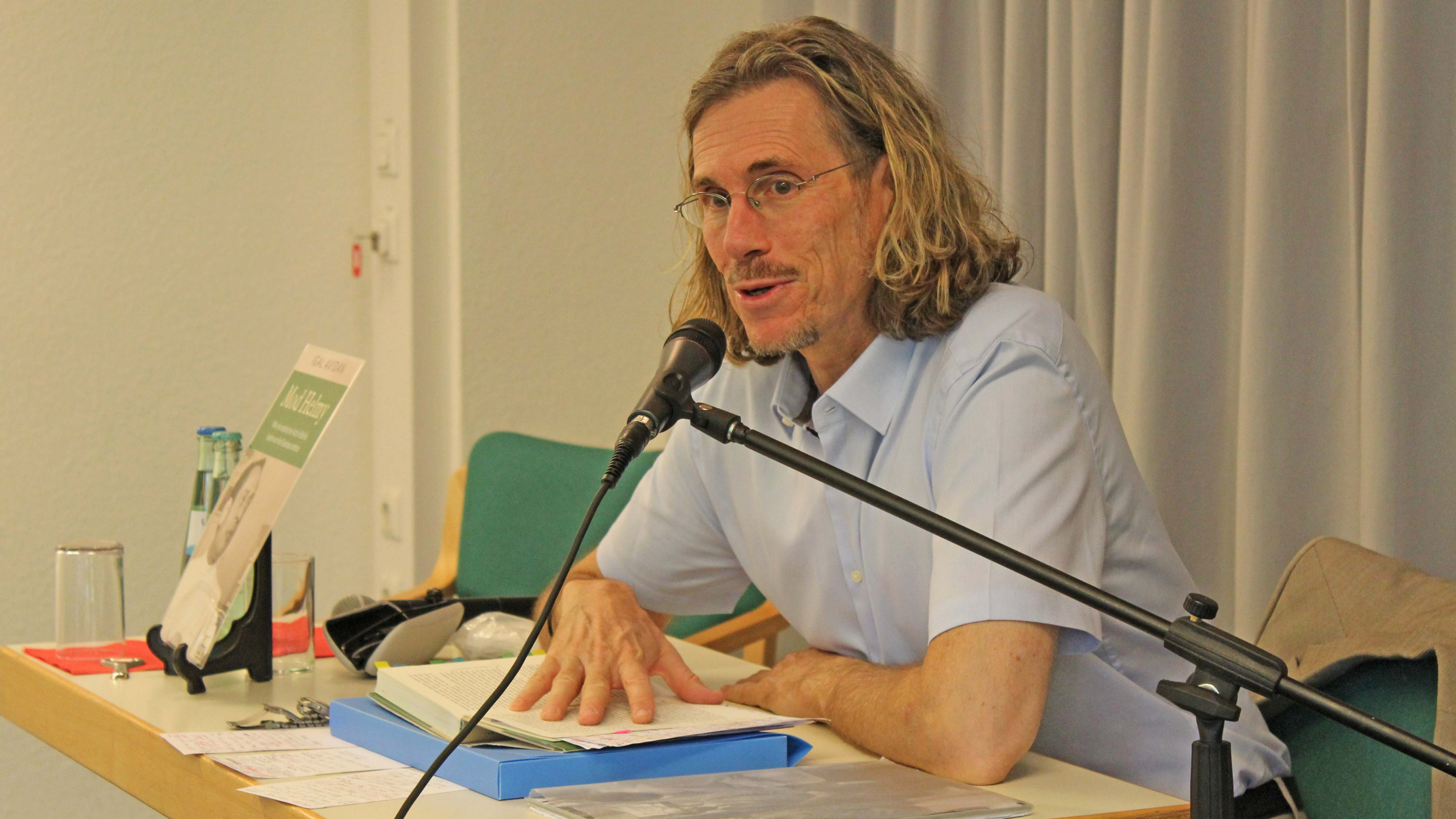 Der Journalist Igal Avidan