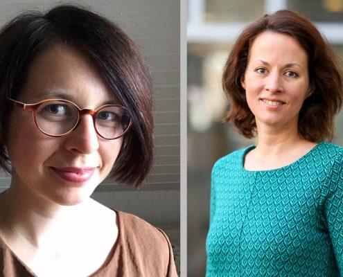 Vanessa Köneke und Johanna Tüntsch