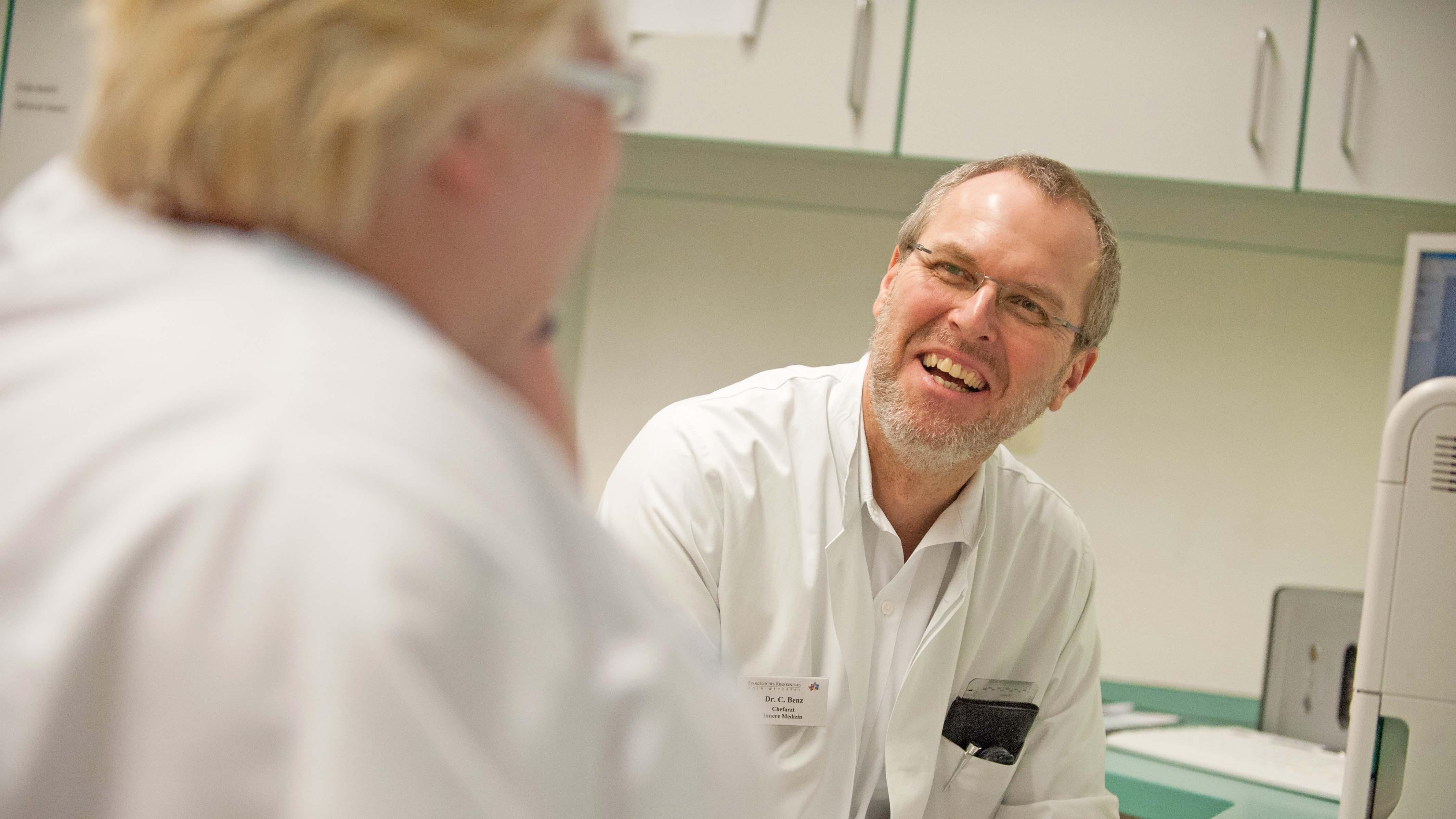 Chefarzt Dr. Claus Benz