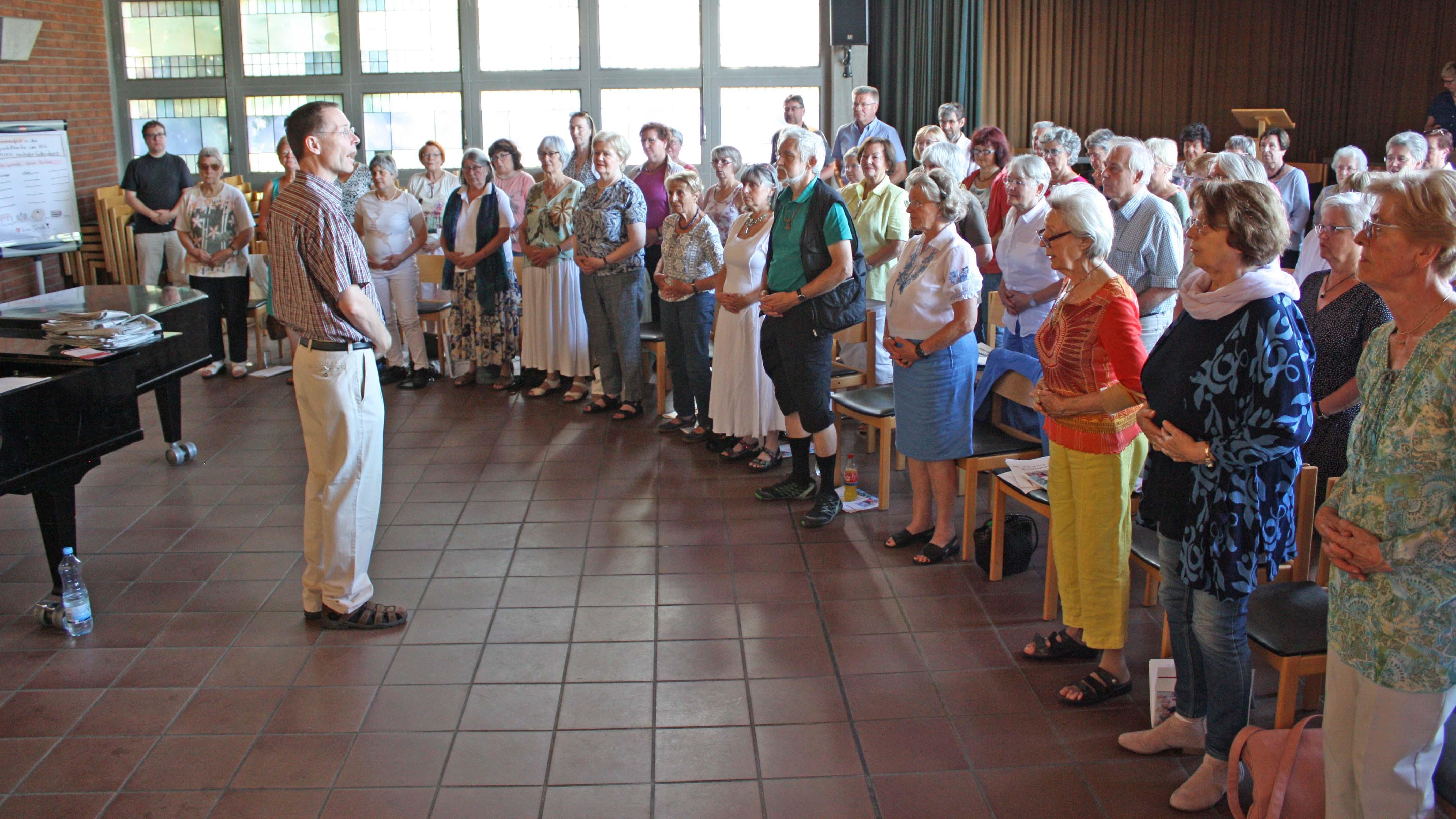 SingTag in der Kreuzkirche Wesseling