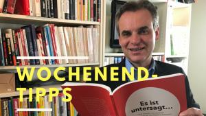 """Wochenend-Tipp: """"LiteraturHerbst 2018"""" zur Pressefreiheit, Konzert ohne Noten,  Barcamp für Flüchtlingsarbeit und spirituelle Orgelvesper"""