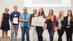 """Ehrenamtstag der Stadt Köln: """"Sonderpreis Jung und engagiert"""" für HöVi-Land"""