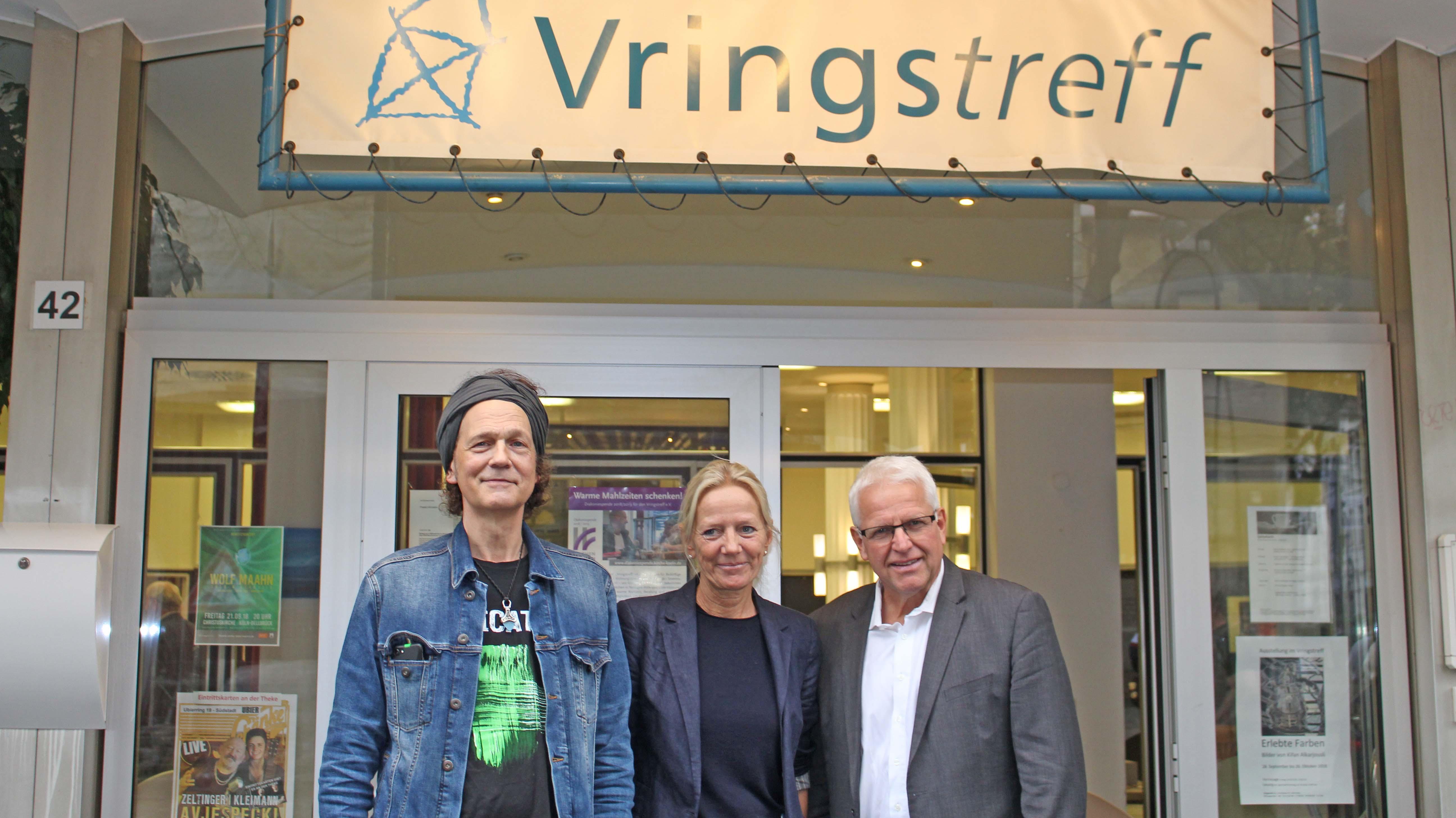 Wolf Maahn, Jutta Eggeling, Rolf Domning