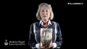 #dazusteheich – Superintendentin Andrea Vogel zum Thema: Zeit nehmen