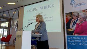 """""""Auch die Stille aushalten lernen"""" – Hospiz- und Palliativtag 2018 in Köln"""