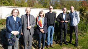 Präses Manfred Rekowski und Superintendentin Andrea Vogel zu Gast in der Forensischen Psychiatrie der LVR-Klinik Köln-Porz