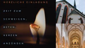 Ökumenisches Gedenken für die vom Brand in St. Magdalenen Betroffenen am 26.10.2018 um 11:55 Uhr in St. Severin