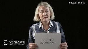 """#dazusteheich – Superintendentin Andrea Vogel über """"Orte der Versöhnung"""""""