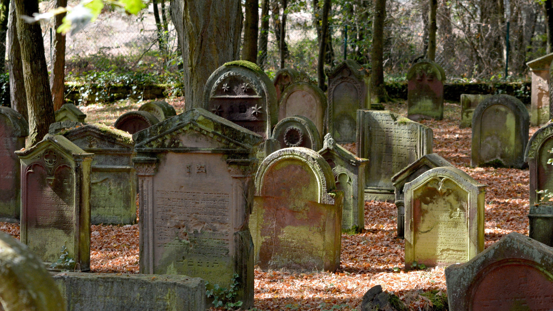 Ein jüdischer Friedhof
