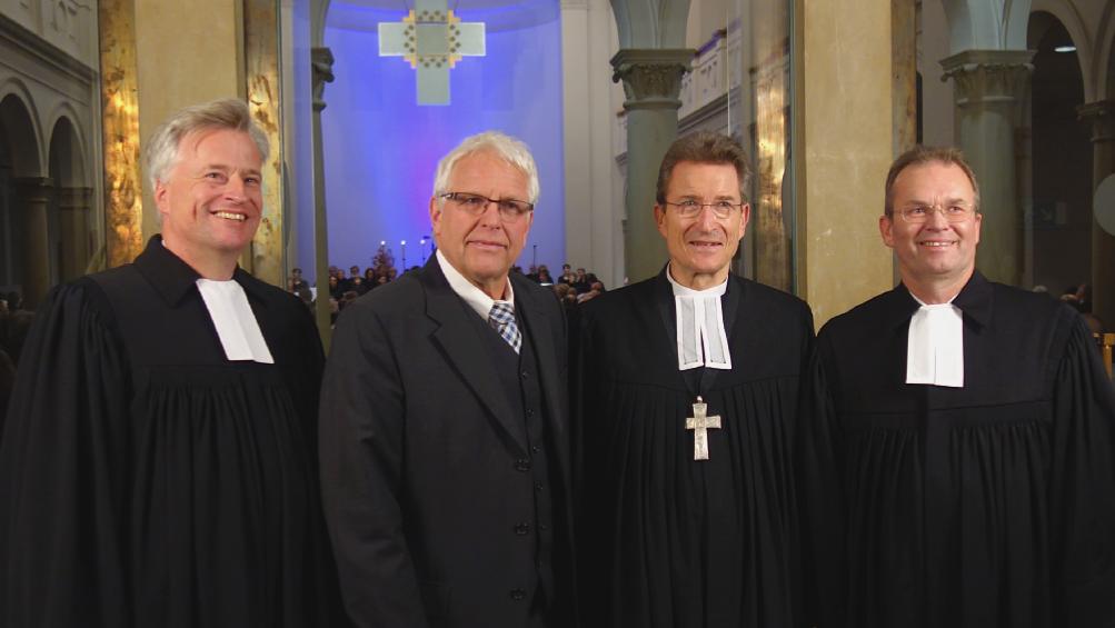 Jahr eins nach 500 Jahren Reformation - Zentrale Reformationsfeier in der Trinitatiskirche