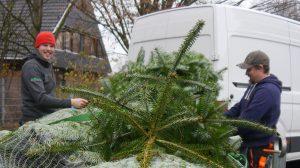 Antoniter Siedlungsgesellschaft spendet Weihnachtsbäume an Kirchengemeinden