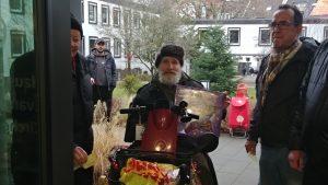 Heilig Abend: Weihnachtsfeier mit Bescherung für wohnungslose und arme Menschen im Haus der Kirche
