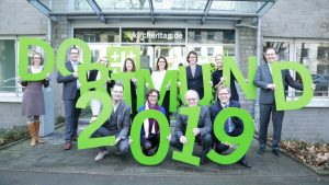 Helferinnen und Helfer für den Kirchentag 2019 in Dortmund gesucht