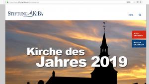 """""""KiBa-Kirche des Jahres"""" gesucht"""