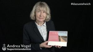 """#dazusteheich – Superintendentin Andrea Vogel zum Thema: """"Die Wahrheit erwarten"""""""