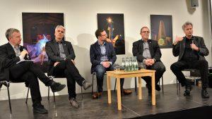 """""""Wir müssen auf jeden Fall sprachfähig bleiben"""" – Podiumsdiskussion: Ziviler Ungehorsam und Hambacher Forst (mit Video)"""